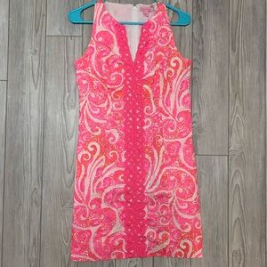 Lilly Pulitzer Pink and Orange Dress